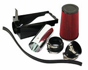 For 99-03 Ford F250super Duty 7.3lv8 Diesel Red Cold Air Intake Kit+heat Shield