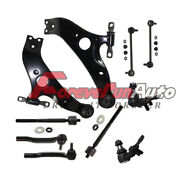 10pc Front Lower Control Arm Set And Suspension Kit 2004 2005-2010 Toyota Sienna