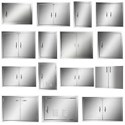 Vevor Multi-size Bbq Double Single Doors Outdoor Kitchen Stainless Steel Access