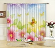 3d Nice Spring Blockout Photo Curtain Printing Curtains Drapes Fabric Window Au