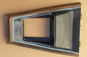 1971 1972 1973 73 Mustang Cougar Xr7 Console Plate, Dark Beige Used