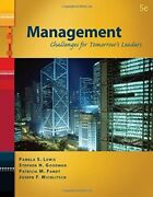 Management Challenges For Tomorrow's Leaders Pamela S. Lewis