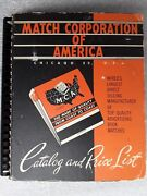 Vintage Match Corporation Of America Catalog Over 300 Real Matchbooks 1950and039s Era