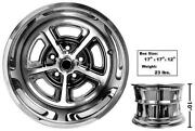 1965-73 Ford Mustang Magnum Alloy Wheel Coated 15x10 Inch W/center Cap New