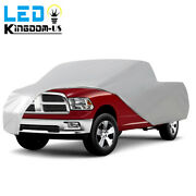Universal Fit Truck Pickup Cover Tough Inandoutdoor Uv Rain Heat Resistant Silver