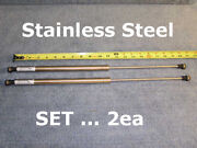 2ea 20in 40lb Stainless Rv Boat 20andrdquo 40 Np Gas Door Spring Strut Push Rod 8x18mm