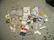 Large Assorted Lot Box Omc Evinrude Mercury New Used Outboard Boat Parts.