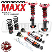 For Mercedes E63 Amg W212 10-15 Godspeed Mmx3130-b Maxx Coilovers Camber Pla Kit