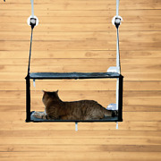 K H Pet Products Ez Window Mount Kitty Sill - Double Stack Sturdy Steel Frame