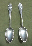 S2. Two Old 0.875 Silver Spoons