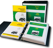 Service Parts Operators Manual Set For John Deere 2940 Tractor Shop 1190 Pgs
