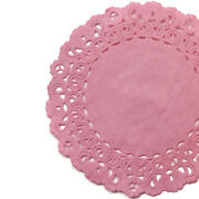 Azalea Pink Paper Doilies   4 5 6 8 10 12 14 16   Pink Charger