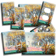 Claude Monet Antibes In The Morning Light Switch Outlet Wall Plates Room Decor