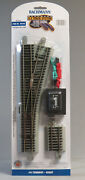Bachmann E-z Track Ho Scale 4 Turnout Right Hand Switch Roadbed Gray 44558 New