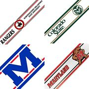 Ncaa Prepasted Wall Borders College Sports Logo Wallpaper Decor - Pick Your Team