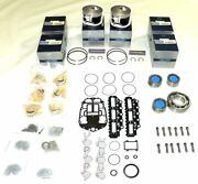 New Johnson/evinrude 150-175 Hp V6 Etec Powerhead Rebuild Kit [2007-up]