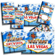 Las Vegas Nevada Casino Welcome Sign Light Switch Outlet Wall Plates Home Decor