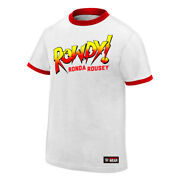 Official Wwe - Ronda Rousey Rowdy Ronda Rousey Authentic T-shirt