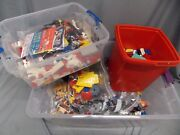 Vintage 80's/90's/00's Lego And Mega Bloks Huge Mixed Lot 25+lbs