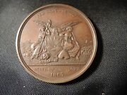Rare Civil War State Of New York Medal Presented By R.e. Fenton Governor