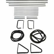 1956 Buick Special 4dr Sedan Glass Weatherstrip Seal Kit