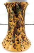 .1880s / 1890s Incredibly Rare Richard Rogers Ipswich Qld Large Pottery Vase.