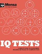 Mensa Iq Tests By Mensa Book The Fast Free Shipping