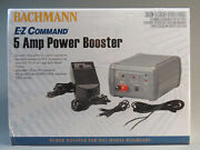 Bachmann E-z Command 5 Amp Track Power Booster Ho N Scale Transformer 44910 New