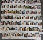 2015 Star Trek Voyager Heroes And Villains Autograph Card Set Of 69 Autograph Card
