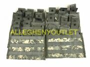 Lot Of 10 Military Triple Three 3 Mag Magazine Pouch Molle Acu 3x30 Shingle Exc
