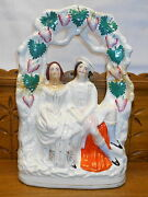 Large Staffordshire Figurine / Statue - As Is / Repaired