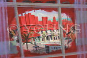 Painting Down Town Red Paint Brush Art Supplies Can Panel Deco Michael Young Art