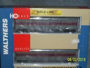 Walthers Ho Scale Gold Line 932-24162 Nyc/rock Island El Express Car 2-pack