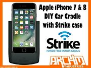 Strike Alpha Apple Iphone 7 And 8 Car Cradle With Strike Case Diy Built-in Charger