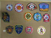 Idaho Fire/rescue Department Patches/badges Set Two Lot Of 13 See Item Desc
