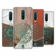 Head Case Geometric Wood Prints Gel Case And Wallpaper For Asus Oneplus