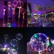 Led Balloons Clear String Lights Helium Wedding Birthday Party Decor Decorations