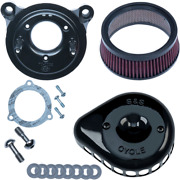 Sands Black Tbw Mini Teardrop Air Cleaner Kit For 08-17 Harley Dyna Touring Flhx