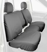 Covercraft Custom-fit Front Bench Seatsaver Seat Covers - Polycotton Fabric, Gre