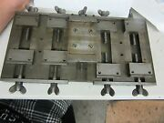 Rare Ornamental And Engine Turning Guilloche Precision Vise-watchmaker Jeweler