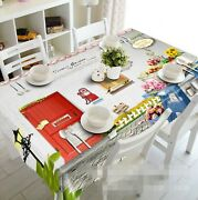 3d Red Door 027 Tablecloth Table Cover Cloth Birthday Party Event Aj Lemon
