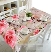 3d Pink Flower 119 Tablecloth Table Cover Cloth Birthday Party Event Aj Lemon
