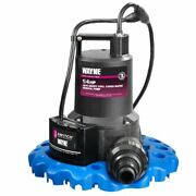 Automatic On/off Water Removal Pool Cover Pump - Wapc250 1/4 Hp Energy Efficient