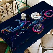 3d Locomotive 06 Tablecloth Table Cover Cloth Birthday Party Event Aj Jenny