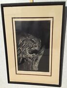 Dennis Curry Limited Ed. Lithograph Great Horned Owl 159/200