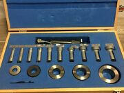 Nice Folwer Bowers Bore Gage Intrimik .590 - 1.970 Ste W/ Master Rings