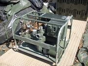 Military Surplus Water Transfer Diaphragm Pump Edson 12o Electric Untested Army