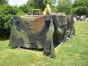 Military Truck Trailer Tent 5 Ton Camo Cover 8 X14.5 X 4 Mtv M1083 Us Army
