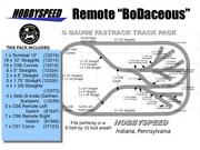 Lionel Fastrack Remote Bodaceous Track Layout 6' X 11' O Gauge Switch Siding New