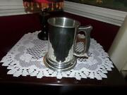 Empire Pewter Stein Glass Bottom Gift Shop Buy Out Lovely